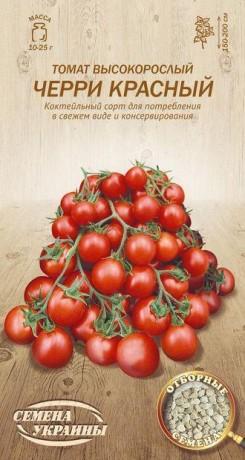 Семена Томата Черри красный, 0,1 г, ТМ Семена Украины