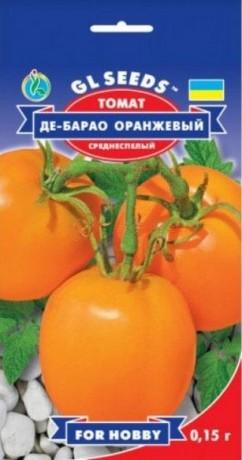 Семена Томата Де-барао Оранжевый, 0.15 г, ТМ GL Seeds