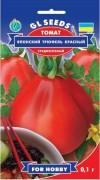 Семена Томата Японский Трюфель красный, 0.1 г, ТМ GL Seeds, НОВИНКА