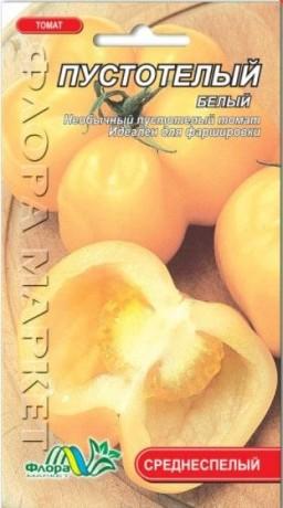 Семена Томата Пустотелый белый, 0.1 г, ТМ ФлораМаркет
