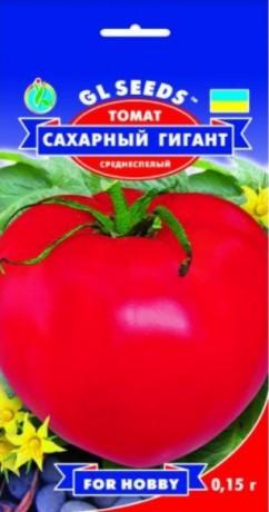 Семена Томата Сахарный гигант, 0.15 г, ТМ GL Seeds
