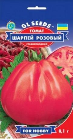 Семена Томата Шарпей розовый, 0.1 г, ТМ GL Seeds