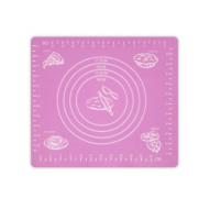 Силиконовый кондитерский коврик для теста и выпечки (фиолетовый), 48х38 см