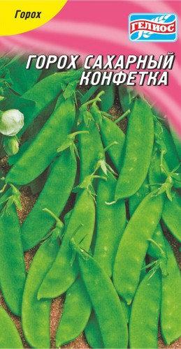 Семена Гороха сахарного Конфетка, 5 г, ТМ Гелиос