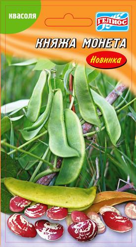 Семена Фасоли Княжеская монета, 10 г, ТМ Гелиос